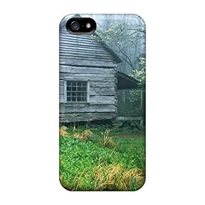 New Arrival Premium 5/5s Case Cover For Iphone (cabin In The Smokey Mountains)