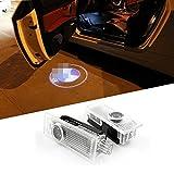 Karono(TM) 2pcs Car Door LED Logo Laser Courtesy Emblem Shadow Welcome Projector Lamp Light for BMW