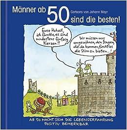 Manner Ab 50 Sind Die Besten Cartoon Geschenkbuch Zum Runden