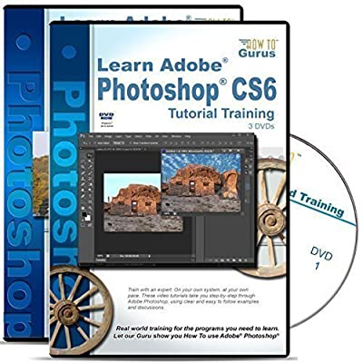 Adobe Photoshop CS6 Tutorial plus Photoshop Photography Effects Training 4 DVDs