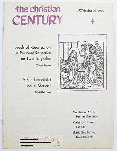 The Christian Century, Volume XCVI Number 39, November 28, 1979