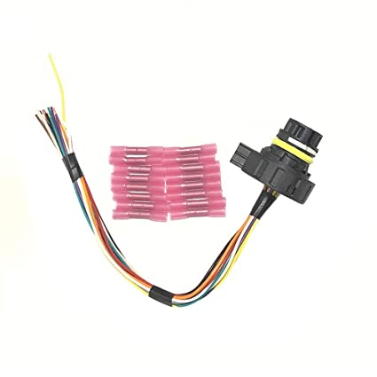Peachy Amazon Com New Transmission Repair Wiring Harness Kit Fits Chevy Wiring Cloud Usnesfoxcilixyz