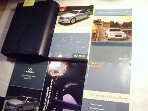 2007 lexus ls 460 460l owners manual lexus amazon com books rh amazon com 2007 lexus ls 460 owners manual pdf 2007 lexus gs 350 owners manual download