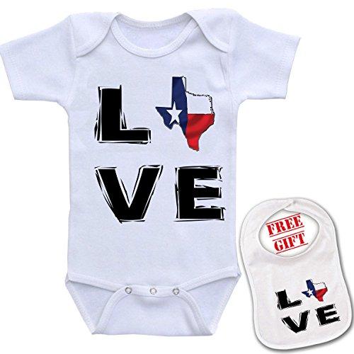 Texas Custom bodysuit onesie matching