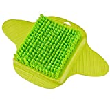 AOXIANG Foot Scrubber Brush Quick Foot Spa Bath Massager Brush at Home - Improves Foot Circulation, Cleaning Feet & Reduces Foot Pain - Exfoliating Easy Suction Foot Scrub