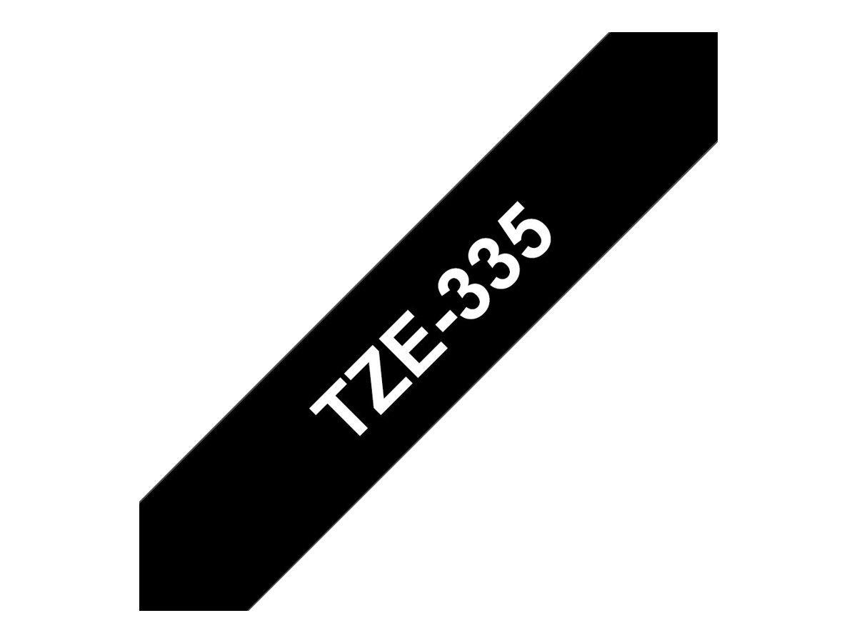 schwarz auf rot Brother Original P-touch Schriftband TZe-431 12 mm kompatibel u.a. mit Brother P-touch PT-H100LB//R, -H105, -E100//VP, -D200//BW//VP, -D210//VP