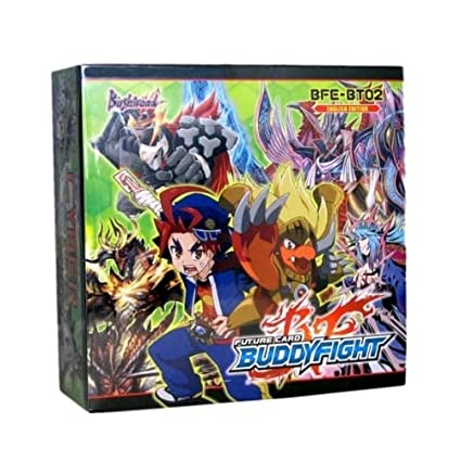 Future Card Buddyfight Buddy Fight TCG Card Game English BFE-BT02 - CYBER NINJA SQUAD Booster Box - 30 packs