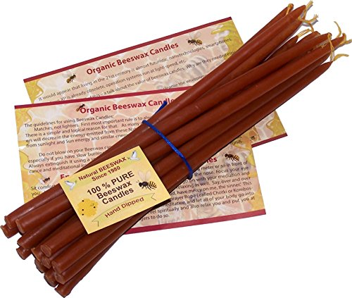 Pure Beeswax Organic Hand Candles product image
