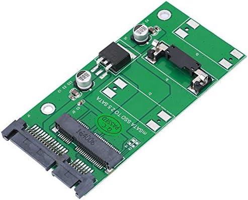 Yoidesu Tarjeta Adaptadora Disco Duro, 2 UNIDS MSATA Mini PCI-E a ...