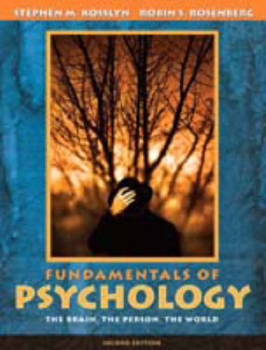 Fundamentals of Psychology: The Brain, The Person, The World (with Study Card) (2nd Edition) (MyPsychLab Series)