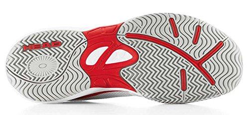 Zapatillas de tenis Head Niños Running Tenis Sprint LDT. Junior Blanco/Rojo White/Flame
