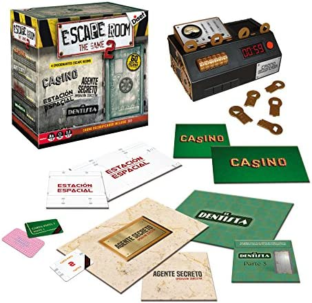 Diset - Escape Room The Game 2 Juego, Multicolor, 62326: Amazon.es: Juguetes y juegos