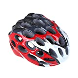41 Vents Mountain Road Helmet Race Hero Bike Cycling Safety Helmet with Visor