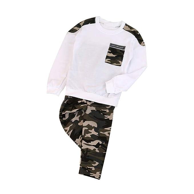 Hankyky Autumn - Conjunto de Camisetas y Pantalones de Manga Larga ...