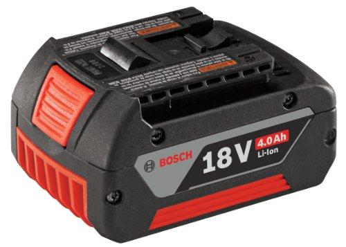 Bosch BAT620 18-Volt Lithium-Ion 4.0Ah Battery with Digital Fuel Gauge