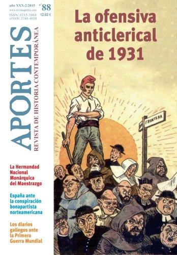 Aportes. Revista de Historia Contemporánea 88, XXX 2/2015: Amazon.es: Aportes, Revista: Libros