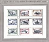 1998 TRANS MISSISSIPPI COLOR REISSUE #3209 Souvenir Sheet of 9 US Postage Stamps