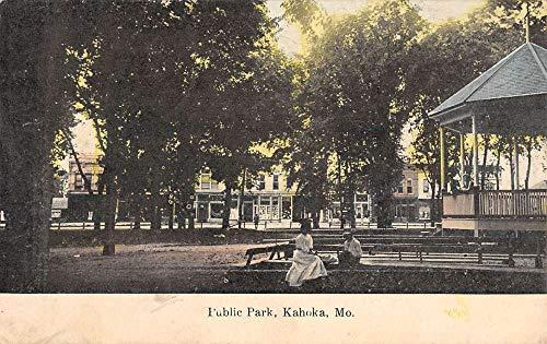 Kahoka Missouri Public Park Gazebo Antique Postcard K101791 (Park Gazebo)