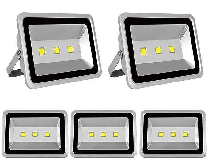 5X 150W Luz Foco Proyector LED Blanco Frio Foco Exterior Foco de ...