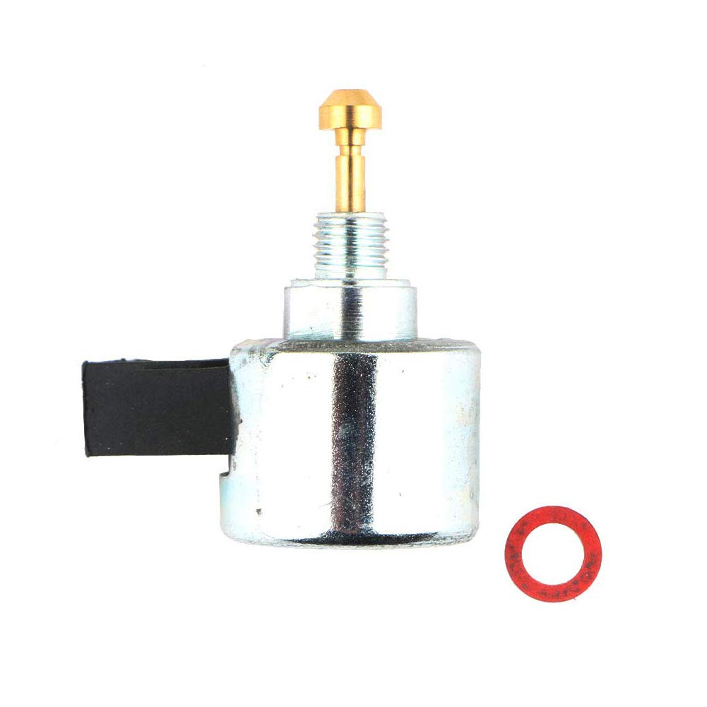 HIFROM 21188-7003 Fuel Solenoid Replace for Kawasaki 15004-0938 FH601V FH641V FH680V FH721V FX Specific FX1000V