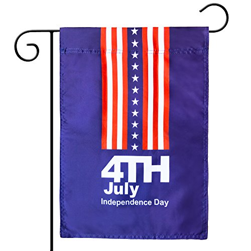 Kind Girl Celebration parade flags, July 4th Independence Day National Day USA US American Garden Flags,Anniversary Celebration, National Day Celebration,Double-Sided (American flag, July 4th)