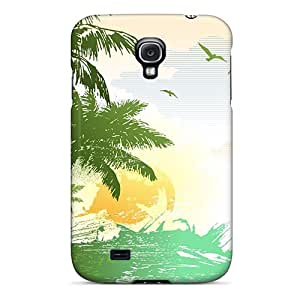 For Galaxy S4 Tpu Phone Case Cover(vector)