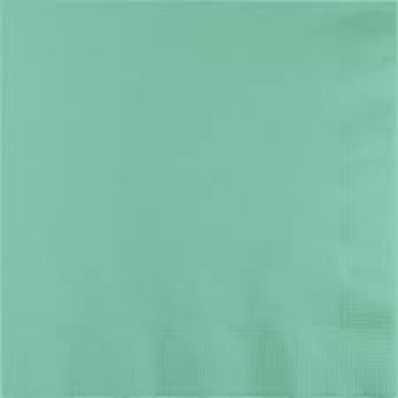 Club 500個パックフレッシュミントグリーンプレミアム3本使い捨て用紙Luncheon Napkins 6.5