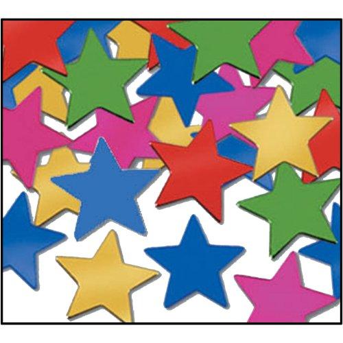 Fanci-Fetti Stars (multi-color) Party Accessory  (1 count) (1 - Fanci Fetti Color Multi
