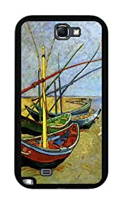 Fishing boats on the beach at Saintes-Maries (van Gogh) - Case for Iphone 5/5S
