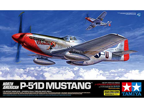 North American P-51D Mustang Tamiya 60322 - 1/32 Review