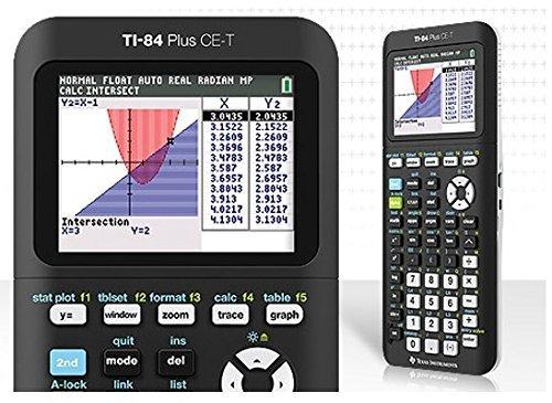 Texas Instruments TI-84 Plus CE-T Grafikrechner Farbbildschirm Taschenrechner