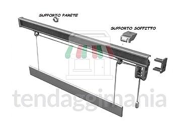 Binari Per Tende A Pacchetto A Vetro.Bastone Binario Per Tenda A Pacchetto A Vetro Professionale Sgancio Rapido In Alluminio Varie Misure L 60 Cm