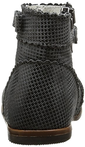 Little Mary Romy - Zapatos para bebes Bebé-Niñas Gris (pied poule poivre)