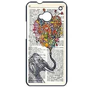 Hot Flower Elephant Phone Case Cover For Htc One M7 Elephant Stylish