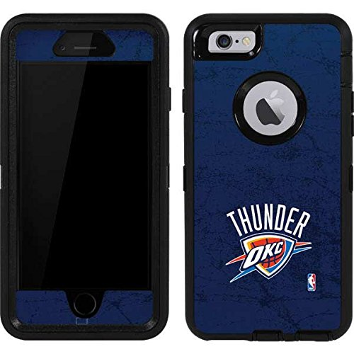 Skinit OKC Thunder Distressed Blue OtterBox Defender iPhone 6 Skin for CASE - Officially Licensed NBA Skin for Popular Cases Decal - Ultra Thin, Lightweight Vinyl Decal Protection
