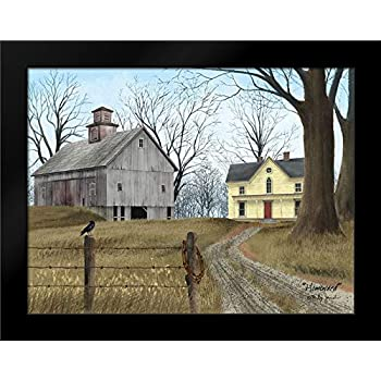 WASH DAY by Billy Jacobs 15x21 FRAMED PRINT Laundry Windmill Clothesline House