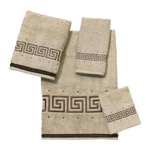 Avanti Linens Premier Athena  Embroidered 4-Piece Decorative Towel Set Linen