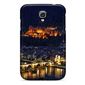 Luckmore Perfect Tpu Case For Galaxy S4/ Anti-scratch Protector Case (heidelberg At Night)