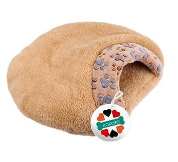 Fendii Dabbie - Saco de dormir para perro con estampado supersuave, ultra grueso, impermeable: Amazon.es: Productos para mascotas