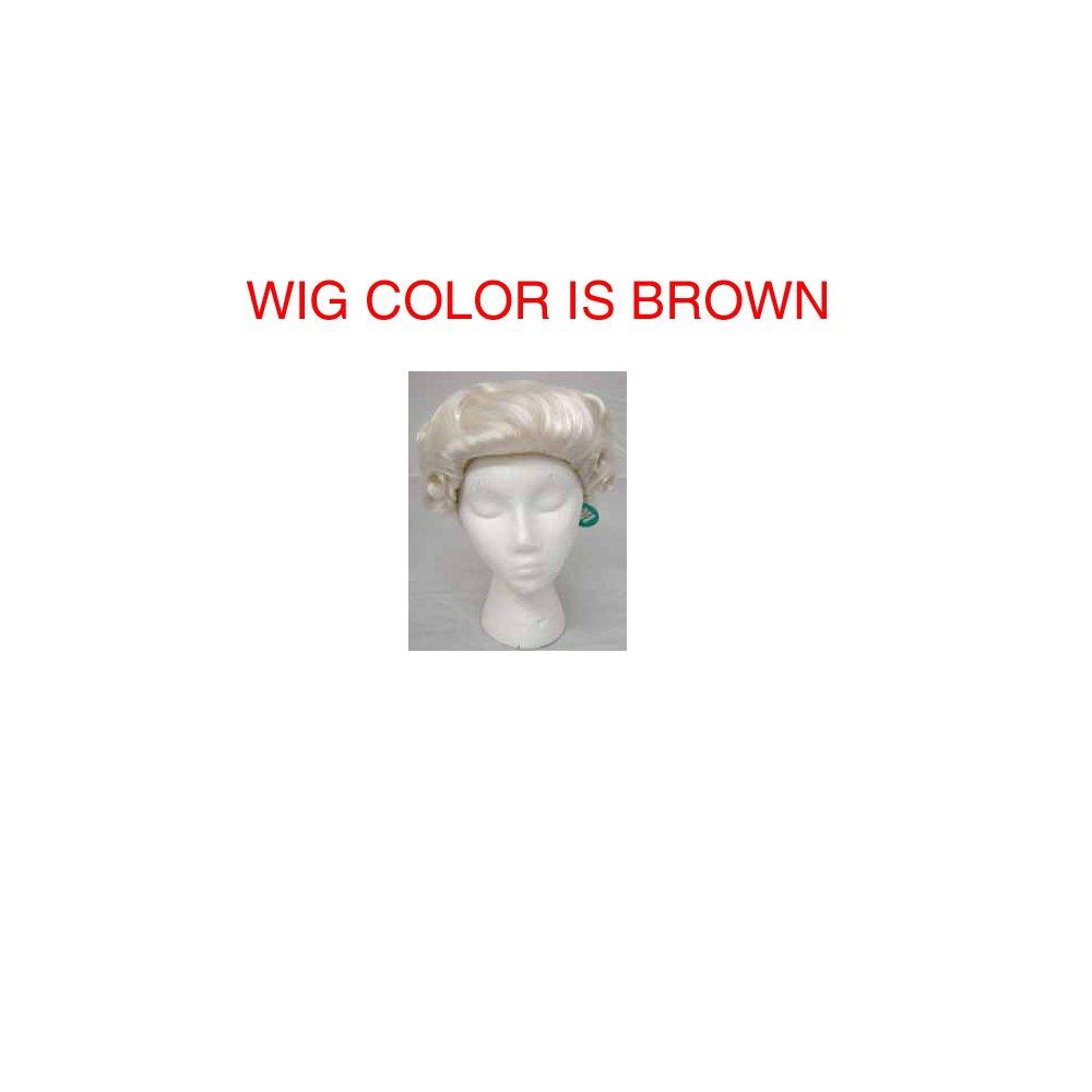 504/189 (Brown) George Washington Wig