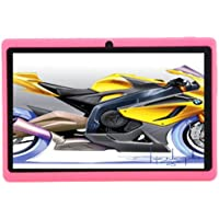 7 Tablet PC - TOOGOO(R)7 HD Touch screen Android 4.4 Quad Core Dual Camera Tablet PC Pink