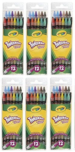 Crayola Twistables Colored Pencils Sharpening