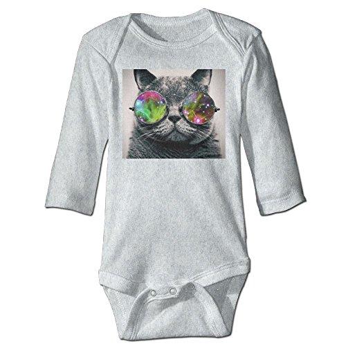 Richard Unisex Toddler Bodysuits Cat Wearing Aviator Sunglasses Boys Babysuit Long Sleeve Jumpsuit Sunsuit Outfit 24 Months - Sunglasses Baby Walmart