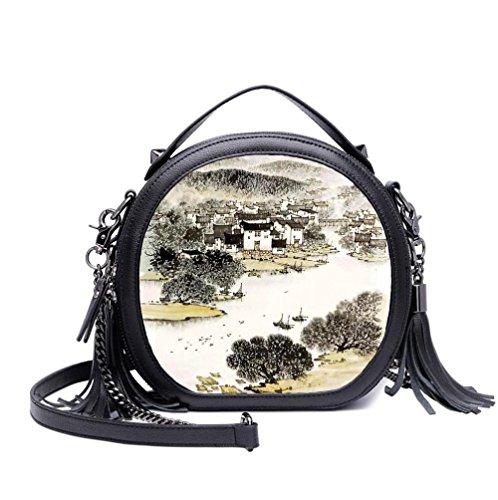 Women Shoulder Bags Messenger Bags Handbags Fashion Chain Print Autumn / Winter Bags Bags Arts O05
