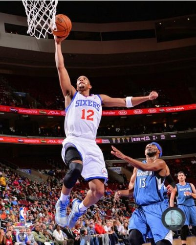 Evan Turner Philadelphia 76ers 2013-2014 NBA Action Photo 8x10