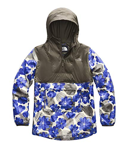 (The North Face Women's Printed Fanorak, New Taupe Green/Aztec Blue Desert Floral Print, Size XS)