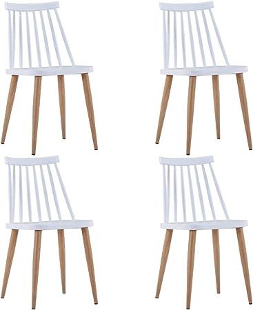 Tidyard Chaises de Jardin 4 pcs   Chaises d'Extérieur en