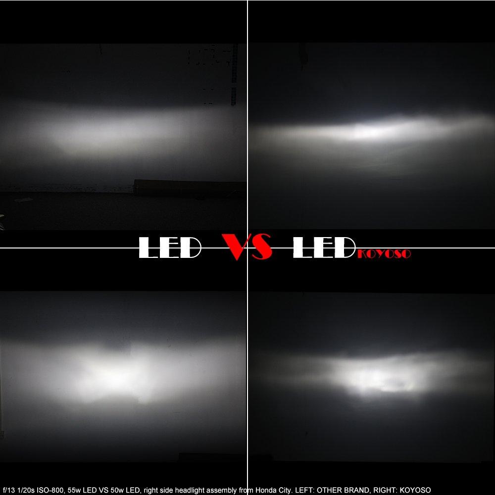 H4 lampen led abblendlicht fernlicht koyoso auto h4 lampen led abblendlicht fernlicht koyoso auto scheinwerferlampe birnen set 12000lm 12 24v amazon auto parisarafo Gallery