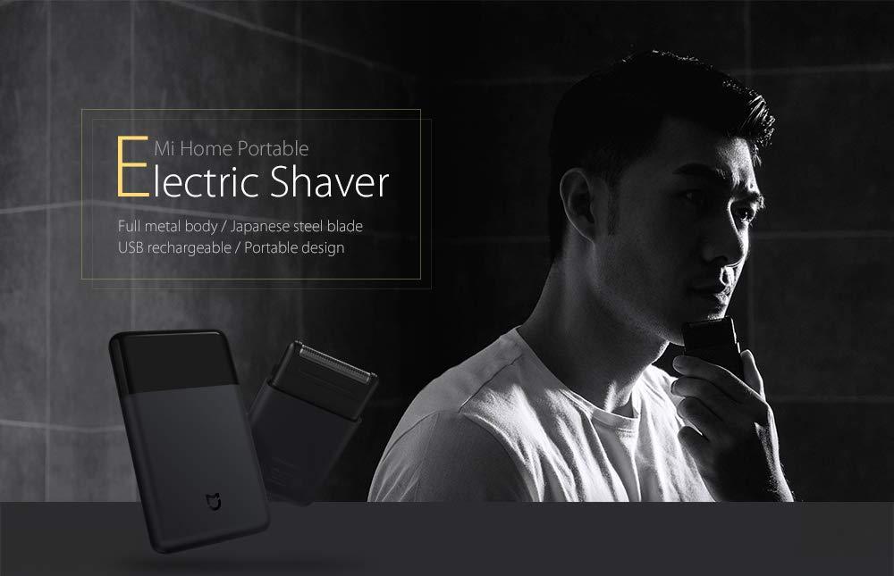 QLQ Razor máquina de Afeitar eléctrica Recargable USB Inteligente Mini Wet Afeitar Lavable Barba Trimmer Viaje para Hombre: Amazon.es: Deportes y aire libre