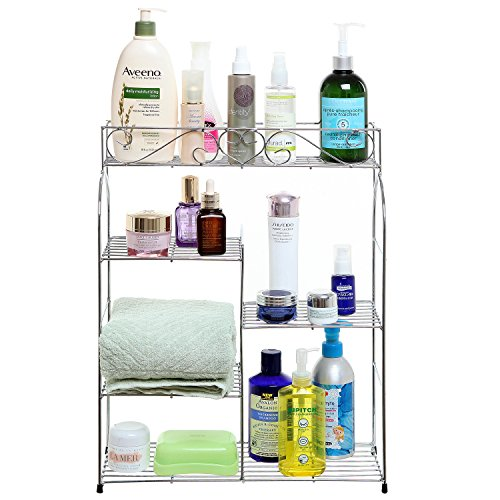 Scrollwork Freestanding Mounted Storage Organizing